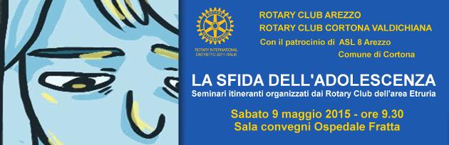 Convegno La sfida dell'adolescenza Rotary USL8